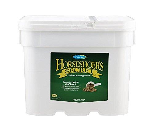 Supplements Hoof Equine (Farnam Horseshoer's Secret Pelleted Hoof Supplement, 38 Pound)