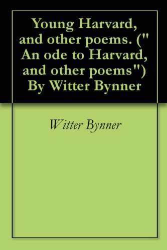 Young Harvard, and other poems. (