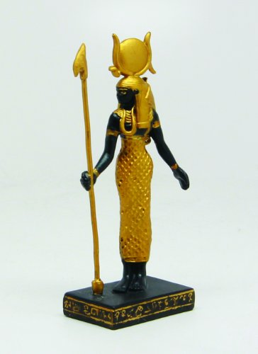 3.25 Inch Hathor Egyptian Mythological Guardian Statue Figurine