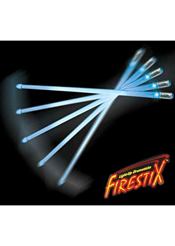 Trophy FX12BL Firestix Light-Up Drumsticks, Blue from Trophy