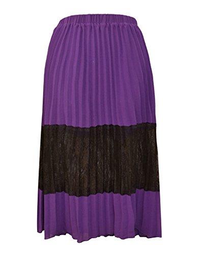 Exceptional Products - Falda - para mujer morado