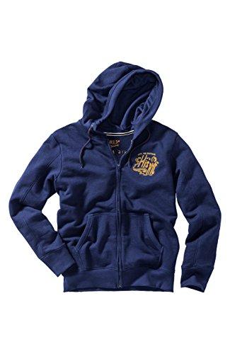 Blue Uomo Felpa twilight Blu Hood His 9652 Sweatjacket Tw1YAA