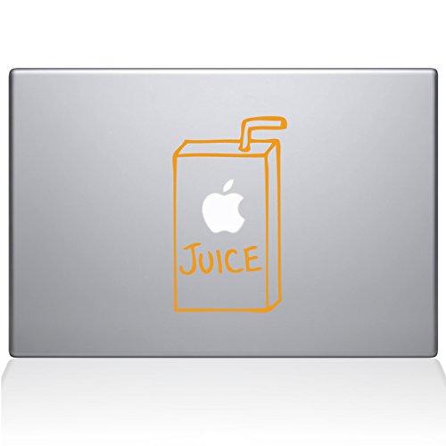 apple juice macbook air decal - 1