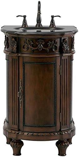 Home Decorators Collection Chelsea 22 w Single Bath Vanity, 35 Hx22 Wx22 D, Antique Cherry