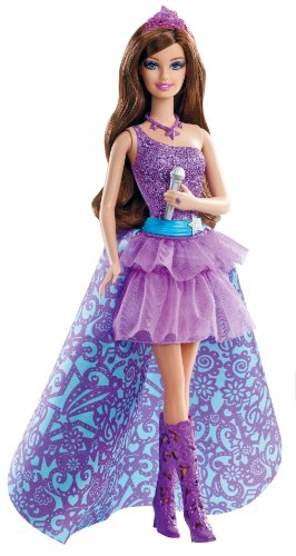 Mattel Barbie The Princess and The Popstar Keira Doll
