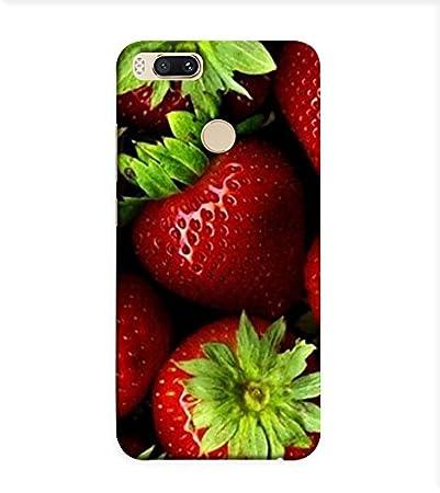 Obokart Strawberry Wallpaper 3d Hard Polycarbonate Amazon