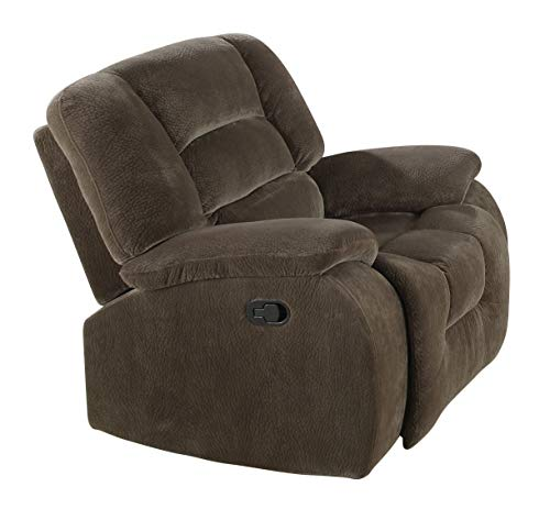 Coaster Home Furnishings Charlie Upholstered Rocker Recliner Brown Sage