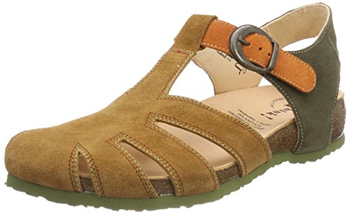 Think 54 Gladiator Brown Sandals 54 Kombi Rum Julia Kombi Women's Rum 282343 trCwZ8rq