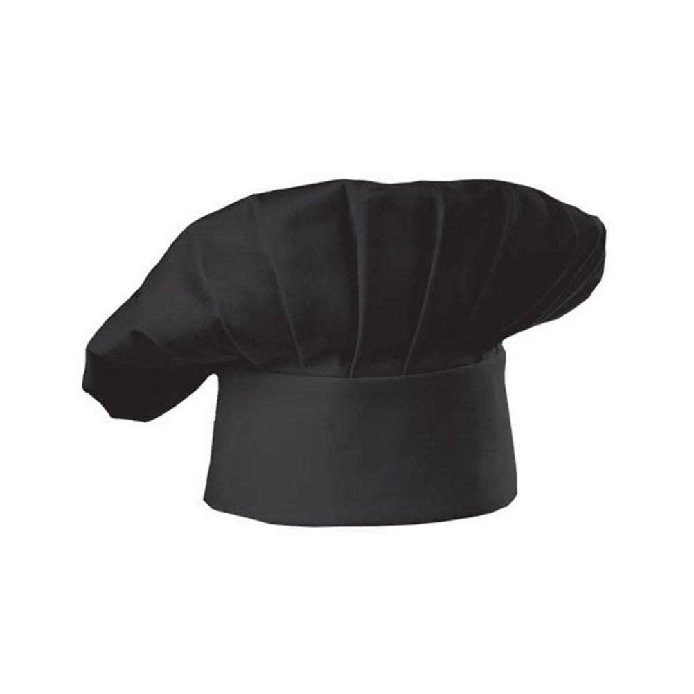 LEORX Elastico Cappello Cuoco (Nero)