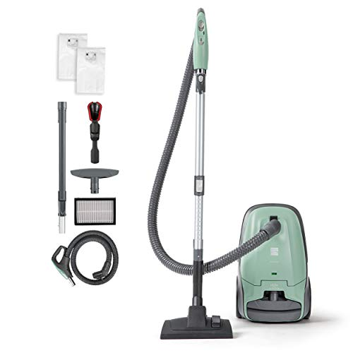Kenmore BC2005 Pet Friendly Lightweight Bagged Canister Vacuum Cleaner with Extended Telescoping Wand, HEPA Filter, Retractable Cord, and 2 Cleaning Tools