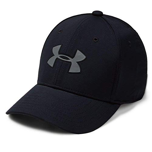 Under Armour Headline Cap 3.0, Black//Pitch Gray, Youth -
