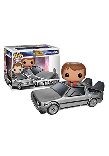 Funko POP Movie (Vinyl): Back to The Future - Delorean Action Figure (Vehicle Delorean)