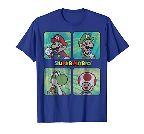 Nintendo Super Mario Brothers Yoshi Toad Splatter