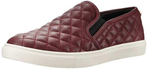 Steve Madden Women's Ecentrcq Slip-On Fashion Sneaker,Wine,9 M US
