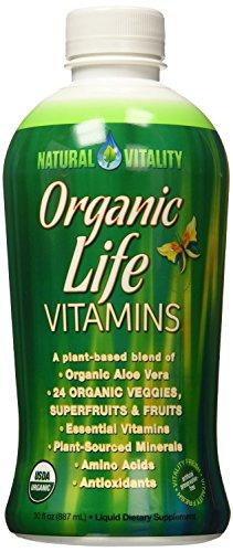 Natural Vitality Organic Life Vitamins, 30 oz (Pack of 2) by Natural Vitality