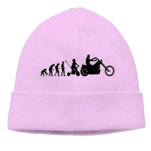 2018 pants Motorcycle Evolution Men's&Women's Skull Beanie Cap Winter Warm Daily Hat ()