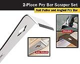 Titan 17005 2-Piece Stainless Steel Pry Bar Scraper