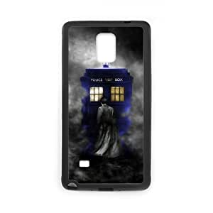 Custom Unique Style Mysterious Doctor Who SamSung Galaxy Note4 Case Laser Rubber Cover Case by ruishername