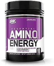 Optimum Nutrition Amino Energy - Pre Workout with Green Tea, BCAA, Amino Acids, Keto Friendly, Green Coffee Ex
