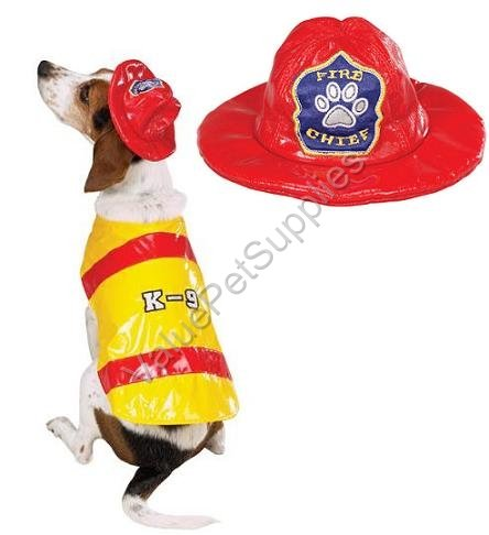 Pawfield Fire Chief Dog Costume -