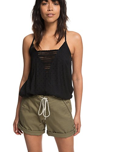Roxy Womens Love at Two - Beach Shorts - Women - M - Green Burnt Olive M by Roxy (Image #4)