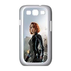 Samsung Galaxy S3 9300 Cell Phone Case White avengers age of ultron scarlett johansson black widow SU4378543