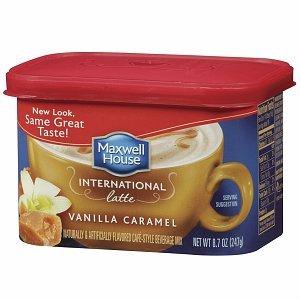 Maxwell House International Cafe Style Beverage Mix, Vanilla Caramel Latte8.7 oz