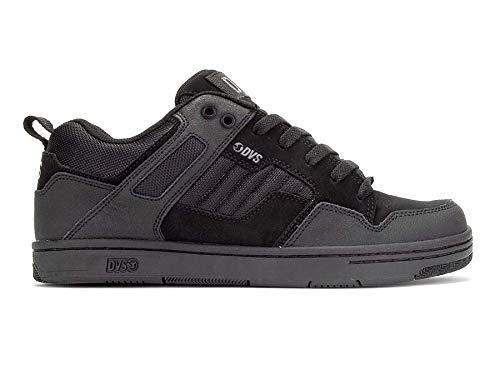 Dvs Footwear Mens Enduro 125 Skate Shoe, Black Charcoal Nubuck, 11 Medium US
