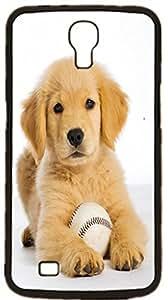 Golden Retriever Dog Hard Case for Samsung Galaxy Mega 6.3 I9200 I9205 ( Sugar Skull )