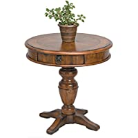 Reual James 201-030 Round End Table, Windsor