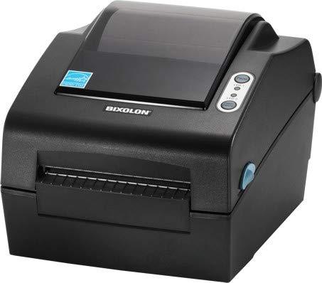 (BIXOLON, SLP-DX420, LABEL PRINTER, BLACK, ETHERNET, USB, 6IPS, PEELER, DT, 203 D)