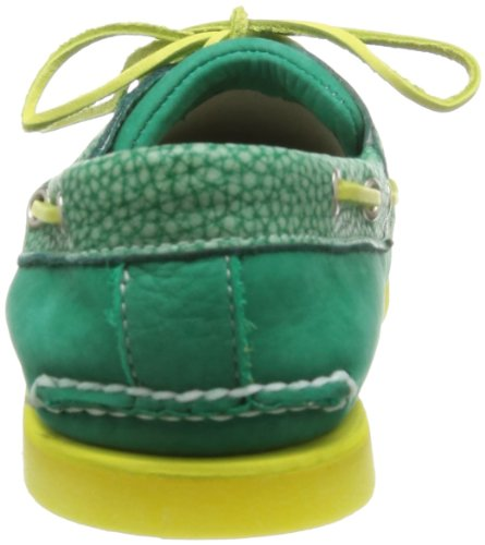 Timberland CLS2I Classic Boat Zapatos para hombre del ante/barco del ante Green