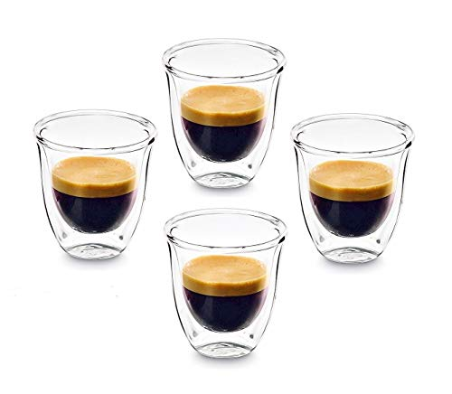 PremiaCasa Double Walled Thermo Espresso Shot Glasses, Set