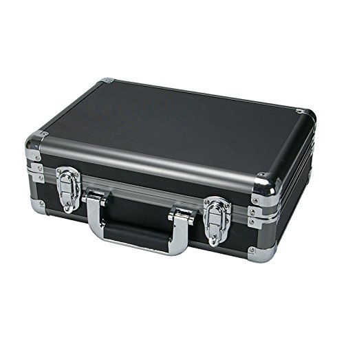 SRA Cases EN-AC-RB-340 Gun Metal Aluminum Hard Case13.4 x 9.5 x 4.7