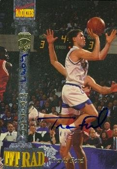 Travis Ford autographed basketball card (Kentucky Wildcats) 1994 Signature Rookies #TF1