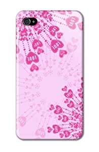 TYH - Case Fun Apple ipod Touch4 Case - Vogue Version - D Full Wrap - Love is Pink ending phone case