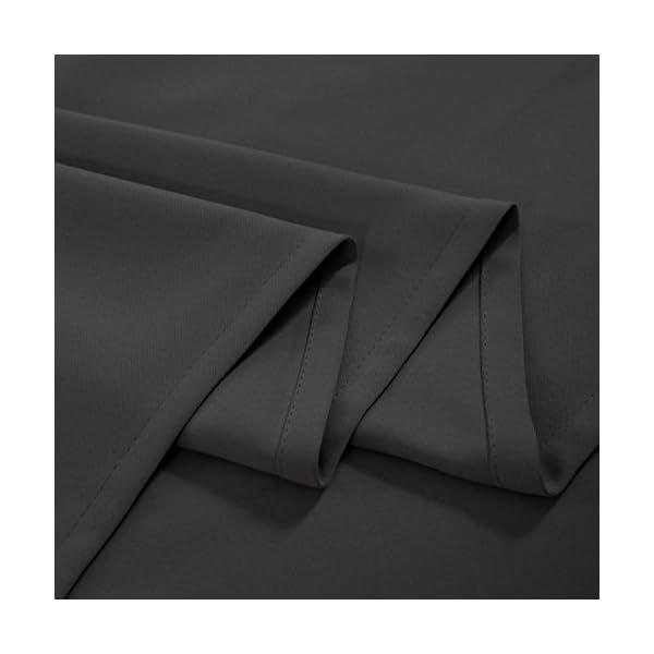 41qczSDi30L FLOWEROOM Blickdichte Gardinen Verdunkelungsvorhang - Lichtundurchlässige Vorhang mit Ösen für Schlafzimmer…