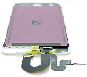iPod 5 Replacement LCD Screen Front Glass Digitizer Assembly (White)