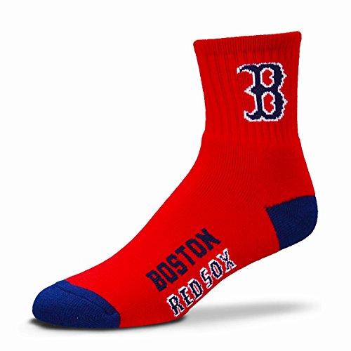 - MLB Boston Red Sox Men's Team Quarter Socks, Large