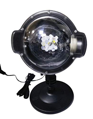 YoyoKit Snowfall Christmas Light Projector, Outdoor IP65 Waterproof Snowflake Motion Show Lights with RF Wireless Remote for Xmas, Landscape, Patio, Garden, Decoration by YoyoKit (Image #7)