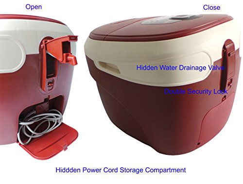 Carepeutic Ozone Waterfall Foot and Leg Spa Bath Massager, 20 Pound by Carepeutic (Image #9)