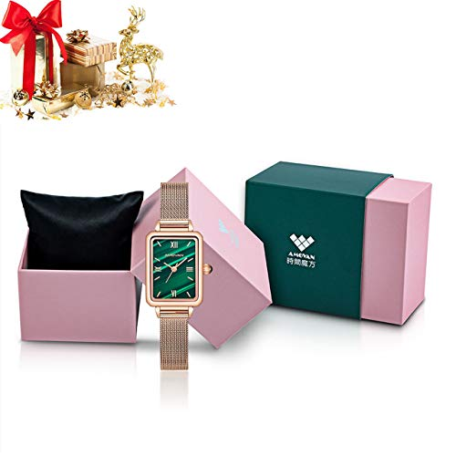 AMOVAN Wrist Watch Original Design Luxury Watch for Women Girls with Casual Fashion New Style Forest Natural Element