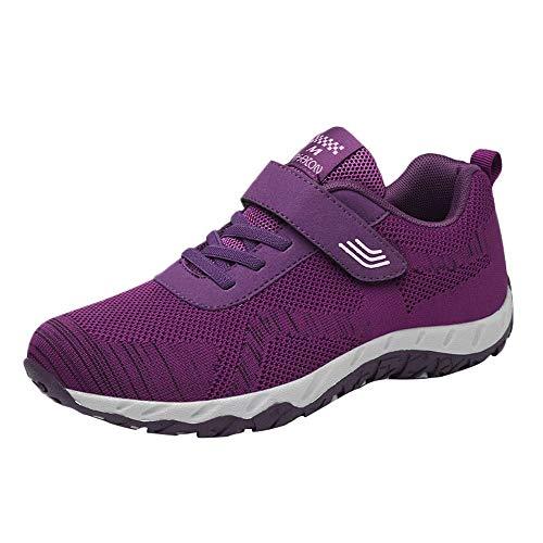 Kiltie Slip - Womens Leisure Mesh Breathable Shoes Non-Slip Sport Shoes Flat Light Sneaker