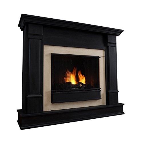 Real Flame Silverton Ventless Gel Fireplace by Real Flame