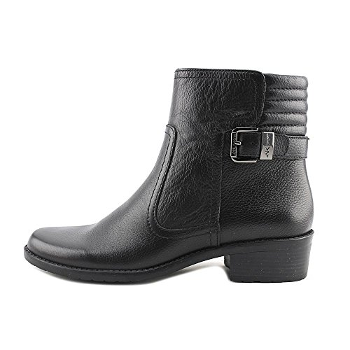 Anne Klein AK Sport Womens Lanette Motorcycle Boot Black