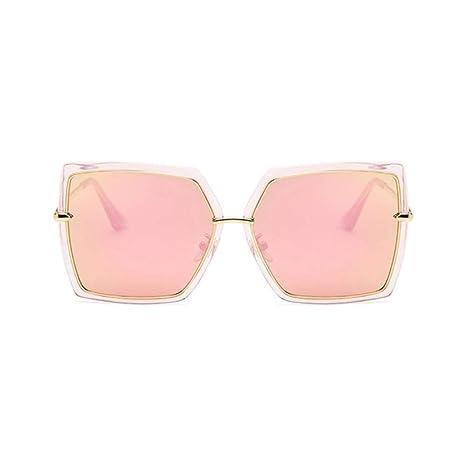 Yangjing-hl Cat Eye Pink Gafas de Sol Mujer Sombras Espejo ...