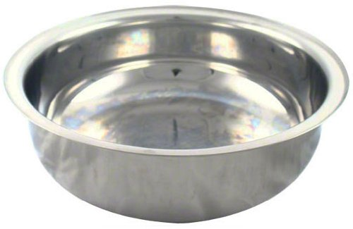 American Metalcraft Round Chafer - American Metalcraft (CDFP44) Mesa Round Roll Top Chafer Food Pan Only