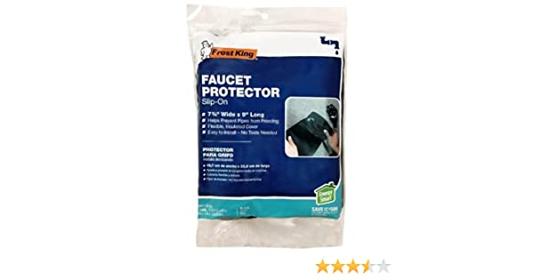 Amazon.com : Slip On Faucet Protector : Weatherproofing Pipe ...
