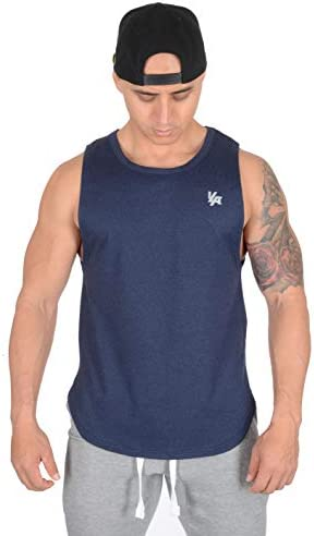 YoungLA Tank Tops Men Workout Muscle Gym Bodybuilding Long Shirts 309