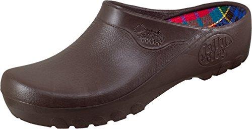 Alpro Clogs ''Jolly Fashion Clog'' in braun aus PU in Größe 36.0 mit breitem/normalem Fussbett Artikel-Nr. 026430 und antistatischer Sohle